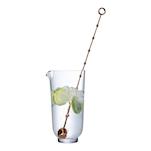 Mixing glass con stirrer ramato Hepburn Nude in vetro cl 65