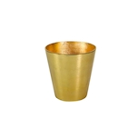 Secchiello vino e champagne in alluminio gold cm 20x20,5