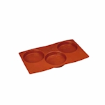 Disco biscuit Flexipad 3 impronte in silicone