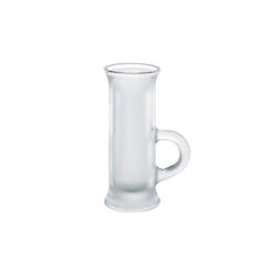 Bicchiere vodka Polo Borgonovo in vetro cl 4,5