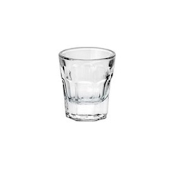 Bicchiere London Borgonovo shot in vetro cl 4,2