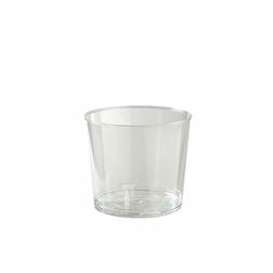 Bicchiere bodega monouso trasparente in polistirene cl 11