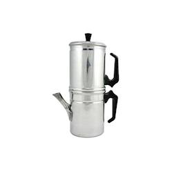 Caffettiera Napoletana in alluminio per 1-2 tazze