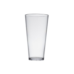Bicchiere Conic birra in policarbonato trasparente 20 cl
