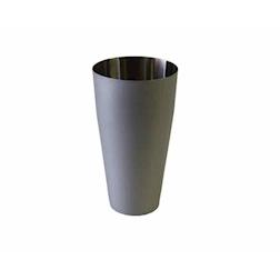 Boston tin in acciaio verniciato argento pastello cl 75