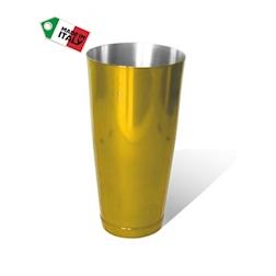 Boston shaker colorato dorato cl 75