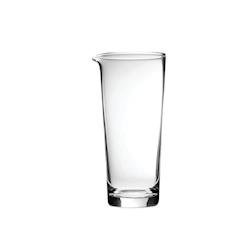 Mixing glass Martini in vetro trasparente