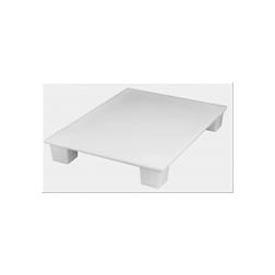 Pallet igienico per alimenti MC polipropilene 60x40cm bianco HACCP
