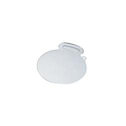 Paletta dolci rotonda in acciaio inox cm 26