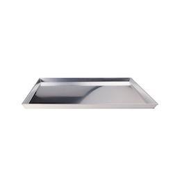 Teglia pizza rettangolare in alluminio cm 60