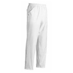 Pantalone cuoco coulisse taglia XL bianco