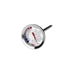 Termometro per carne da +54 a +88°C in acciaio inox