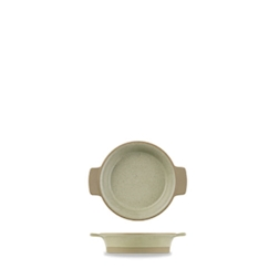 Pirofila tonda Linea Igneous Churchill in porcellana cm 12