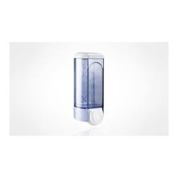Dispenser sapone liquido plastica 25x9,5x9,5cm trasparente