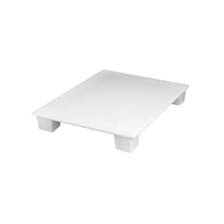Pallet igienico per alimenti MC polipropilene 80x120cm bianco HACCP