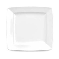 Piatto quadro Linea Energy Churchill in porcellana cm 23,3