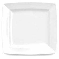 Piatto quadro Linea Energy Churchill in porcellana cm 28,6