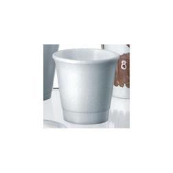 Bicchiere monouso in polistirolo termico per caffè cl 8