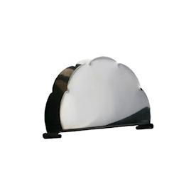 Portatovaglioli nuvola in acciaio inox