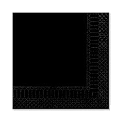 Tovagliolo in cellulosa 2 veli nero cm 33x33