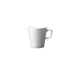 Tazza caffè e latte Mug Linea Beverage Churchill in ceramica vetrificata bianca cl 28