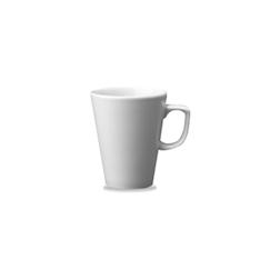 Tazza caffè e latte Mug Linea Beverage Churchill in ceramica vetrificata bianca cl 40