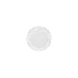 Pizzi tondi in carta bianca cm 14