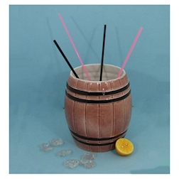 Bicchiere cocktails Rum Barrel gigante lt 4,5