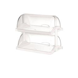 Vetrina Pasticcera doppia in plastica trasparente cm 48x33