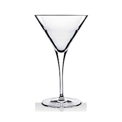Coppa Martini Elegante Bormioli Luigi in vetro 30 cl