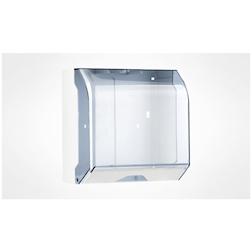 Dispenser per tovaglioli monouso in plastica trasparente