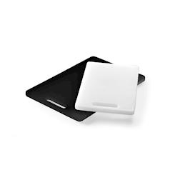 Tagliere universale in HDPE bianco cm 25x15x1