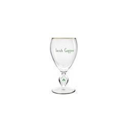 Bicchiere Irish Coffee Durobor in vetro con scritta ''Irish Coffee'' cl 23