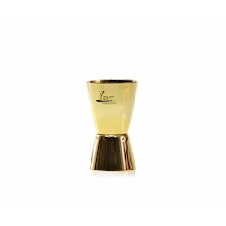 Jigger RG in acciaio inox lucido color oro cl 2 e 4