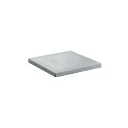 Ricambio pietra ollare quadrata cm 25x25
