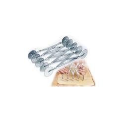 Tagliapasta doppio estendibile 10 rotelle in acciaio inox