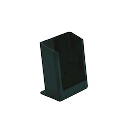 Portatovaglioli in acciaio inox verniciato nero cm 12,7x5,4