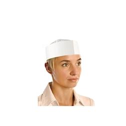 Cappello cuoco di carta monouso
