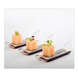 Cucchiaio Dry Spoon 2 fori 100% Chef in vetro borosilicato
