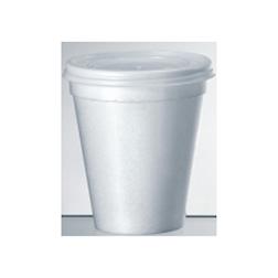 Bicchiere monouso cappuccio in polistirolo termico cl 20
