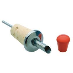 Tappo versatore in sughero con capsula