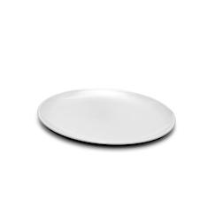 Vassoio ovale in melamina bianco cm 28 x 35,5