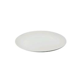 Vassoio tondo in melamina bianco cm 35