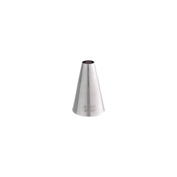 Bocchetta foro tondo in acciaio inox mm 16