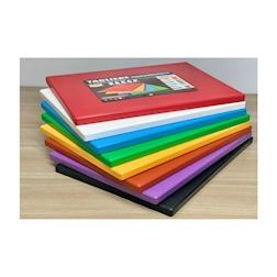 Tagliere professionale MC polietilene 40x30x2cm verde HACCP