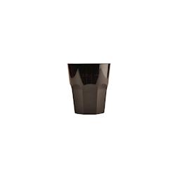 Bicchiere cocktail Gold Plast in polipropilene cl 27 nero
