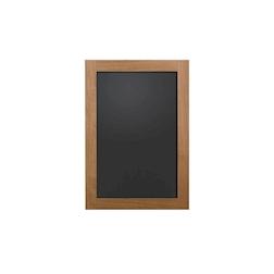 Lavagna in mdf e cornice in legno di noce cm 45x65