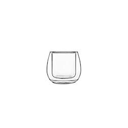Bicchiere termico Ametista Bormioli Luigi in vetro cl 11,5