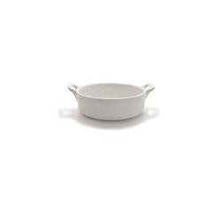 Tegame tondo Clever in porcellana bianca cm 18x4,7