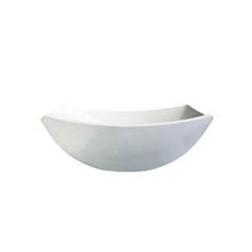 Insalatiera quadrata Linea Delice Arcoroc in vetro bianco 24 cm